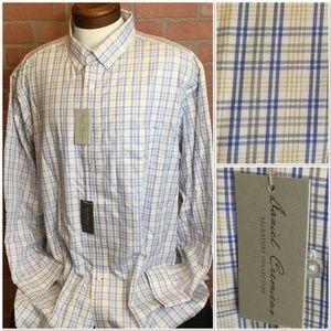 NWT mens Cremieux long sleeve shirt XXL (MM56-58)